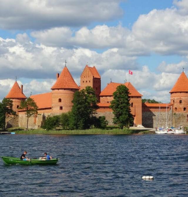 el Castillo de Trakai en Estonia, Letonia y Lituania