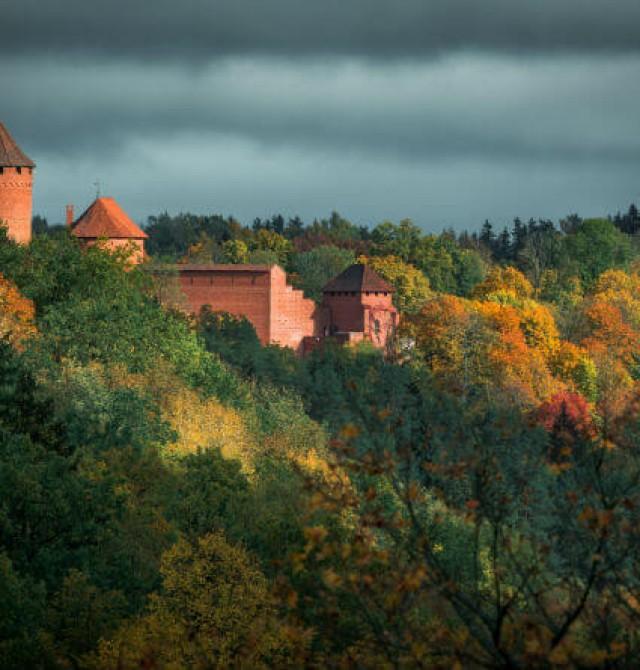 Parque Nacional de Gauja en Estonia, Letonia y Lituania
