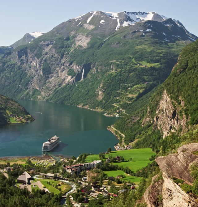 Kristiansund en Noruega