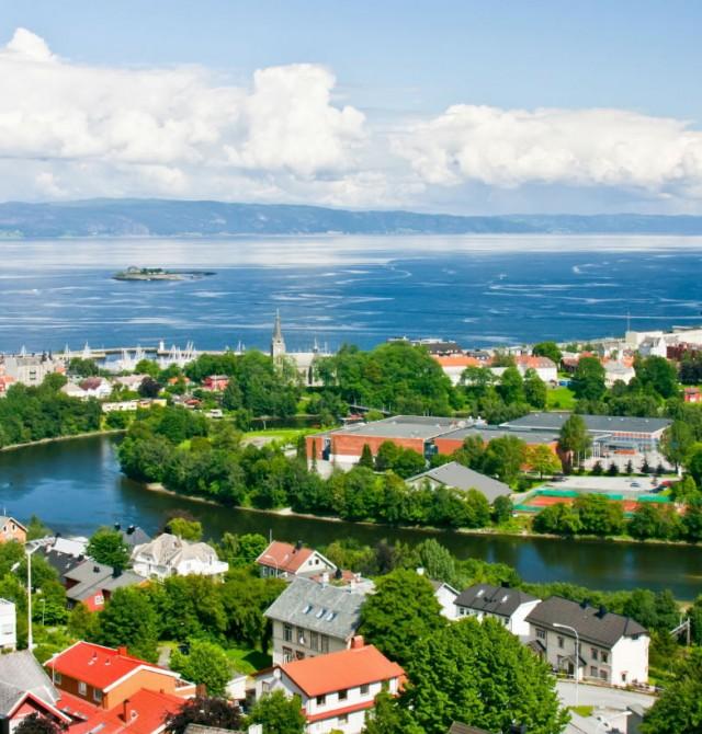Rorvik en Noruega