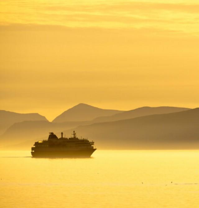 Un crucero al Cabo Norte en Noruega