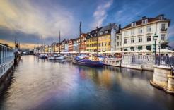 en Dinamarca, Noruega y Suecia