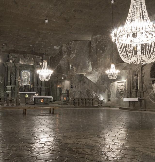 Adéntrate en las minas de sal de Wieliczka