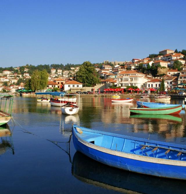 El lago de Ohrid