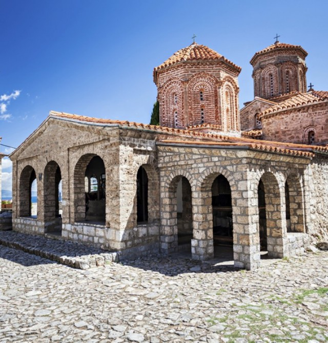 Monasterio de San Naum en Albania y Macedonia