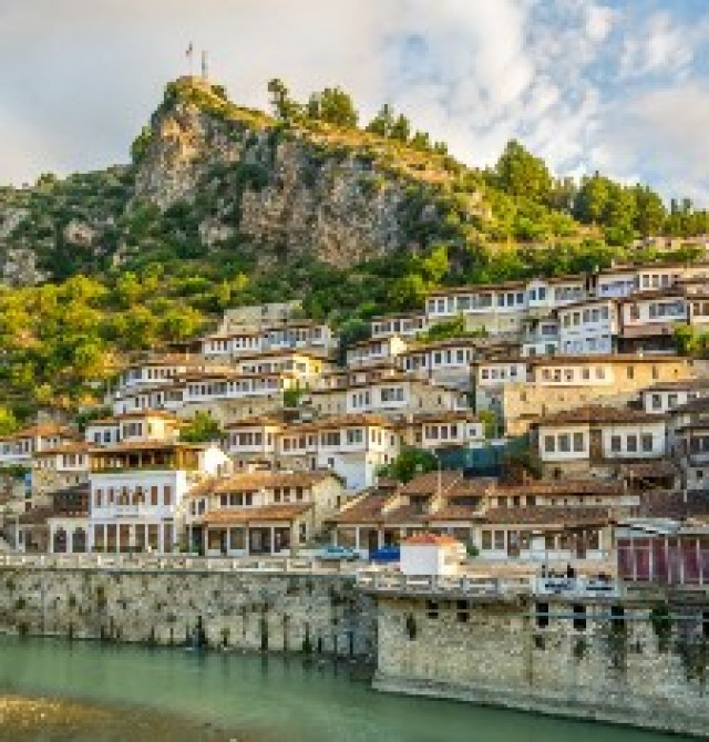 Berat en Albania y Macedonia