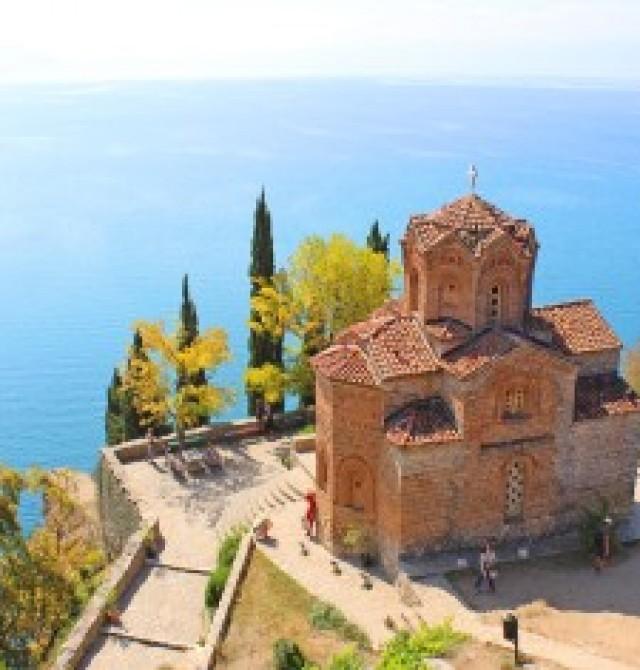 Ohrid en Albania y Macedonia