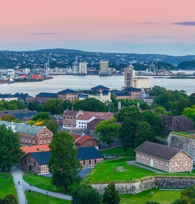 Oslo - Madrid en Noruega