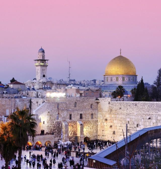 Jerusalén en Israel y Autoridad Palestina