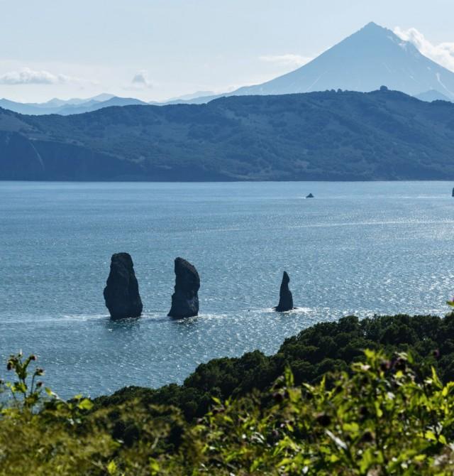 Bahía de Avacha en Rusia, Kamchatka