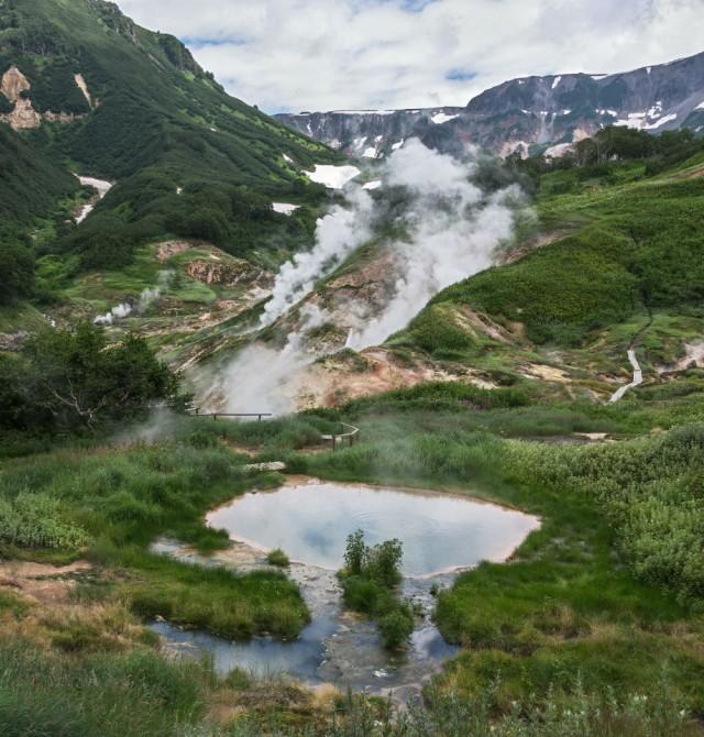 en Rusia, Kamchatka