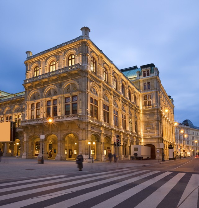 Ópera Nacional de Viena  en Austria