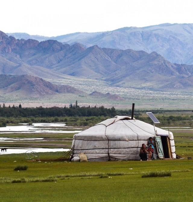 Parque Nacional Terelj en Rusia - Mongolia - China