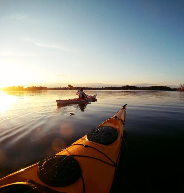 Por el agua en Finlandia