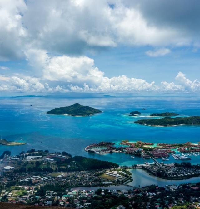Mahe en Seychelles