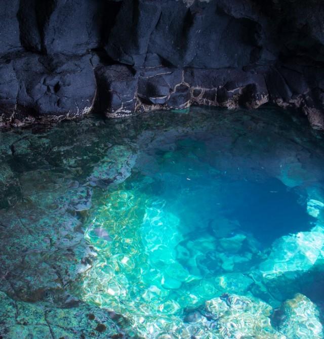 Baños de sal  en Cabo Verde