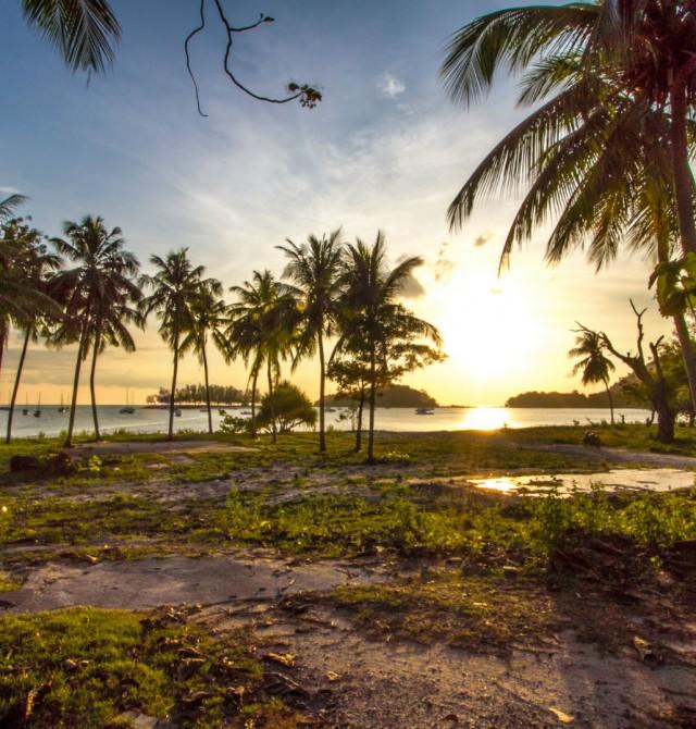 Pantai en Malasia