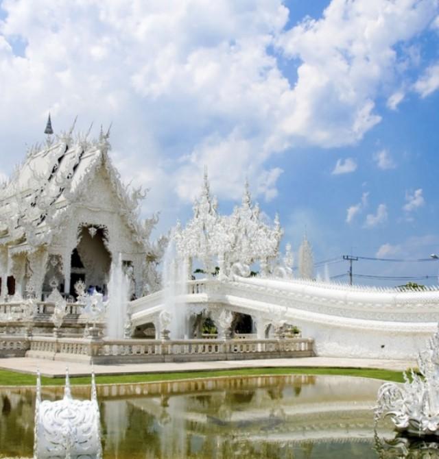 """Wat Rong Khun"" en Tailandia"
