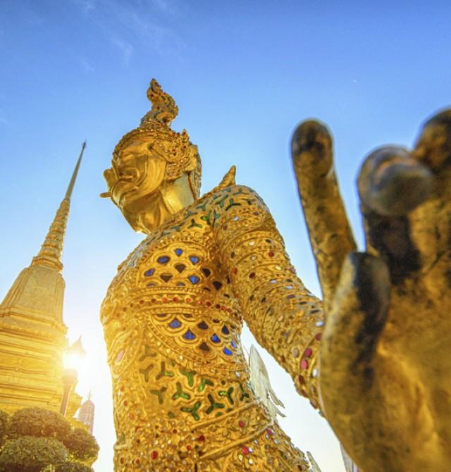 Wat Phra Kaew, el Buda esmeralda en Tailandia