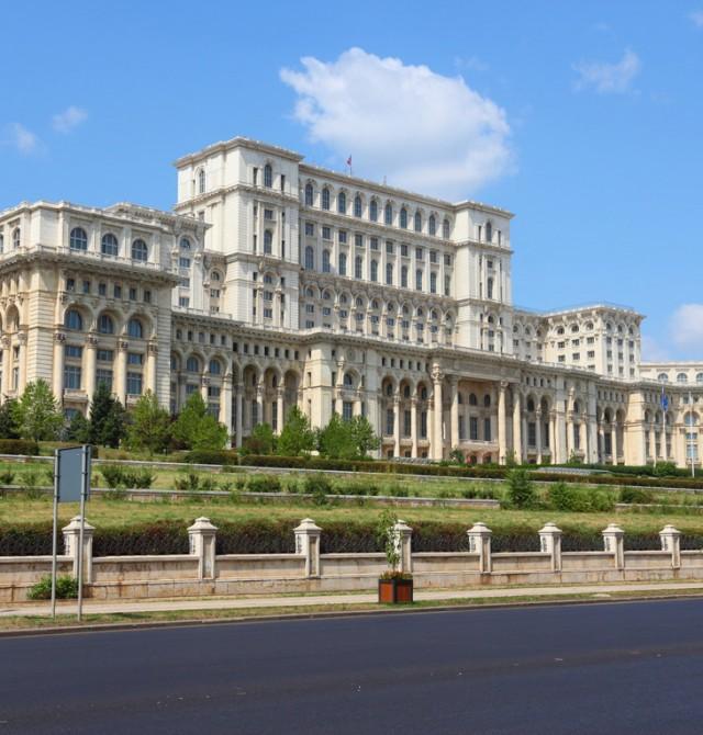 Parlamento de Bucarest en Rumanía
