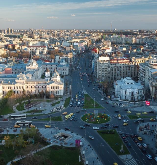 Bucarest en Rumanía