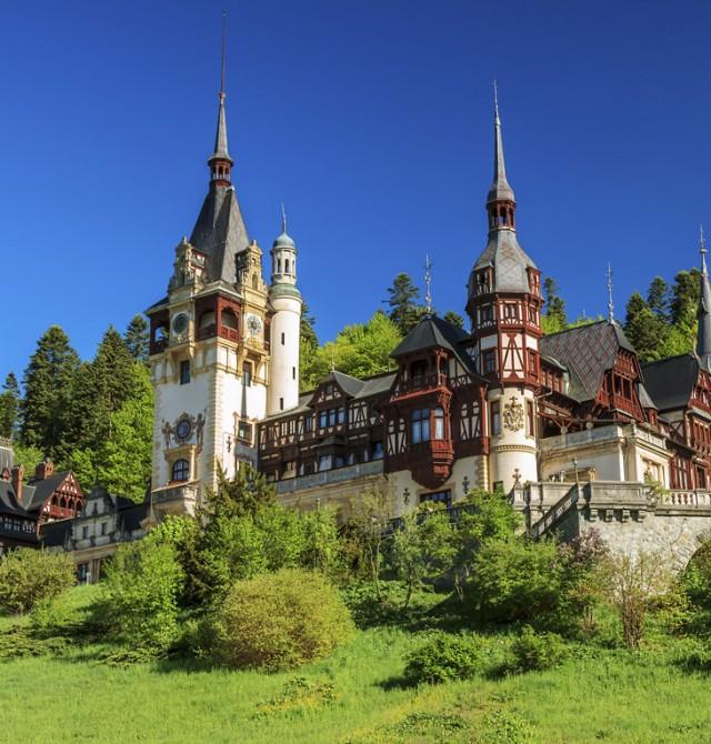 Castillo de Peles en Rumanía
