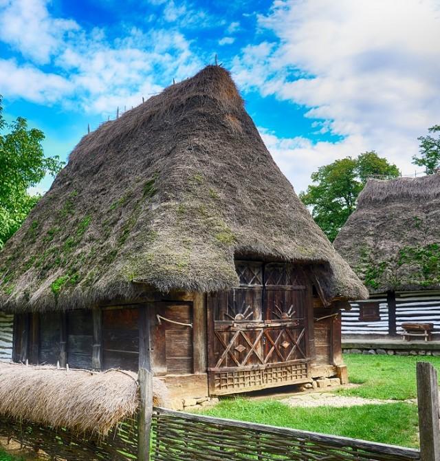 Museo del pueblo en Rumanía