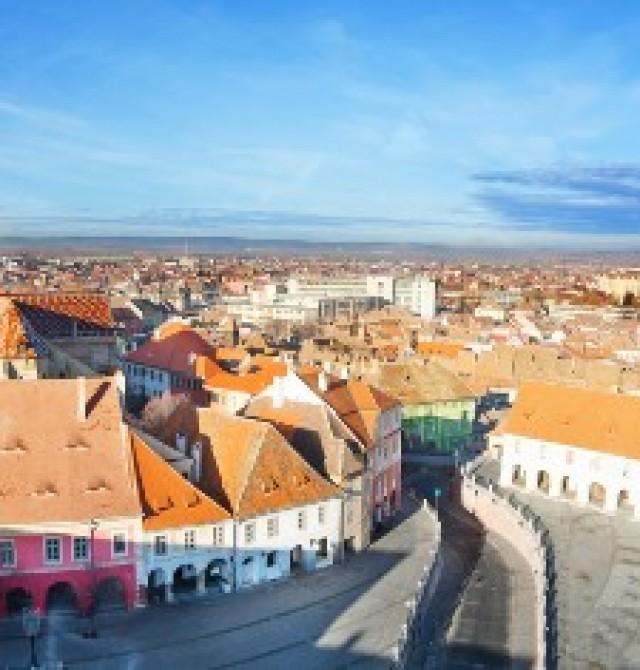Sibiu en Rumanía