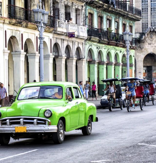 La Habana en Cuba
