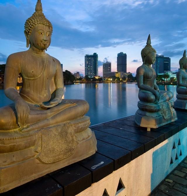 Colombo en Sri Lanka y Maldivas