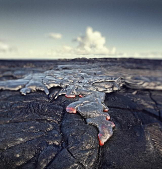 Volcán Kilauea en Estados Unidos