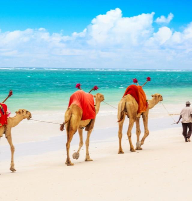 Mombasa en Kenia