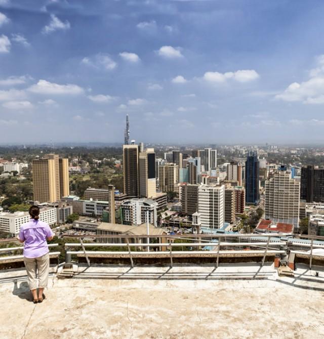 Nairobi en Kenia