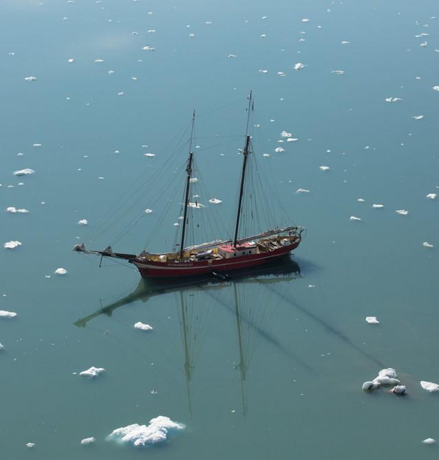 Svalbard en velero