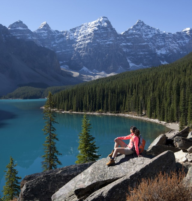 Entre lagos y montañas