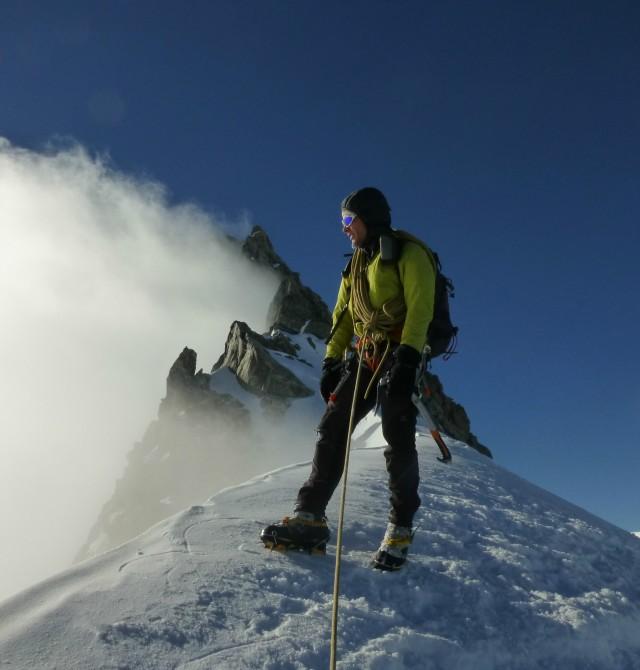 Ascensión al Mont Blanc en Chamonix, Francia