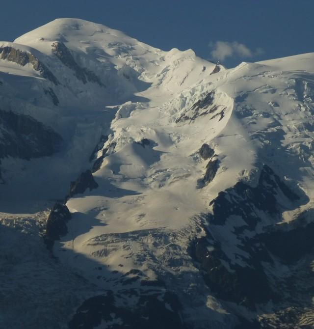 Macizo del Mont Blanc en Chamonix, Francia