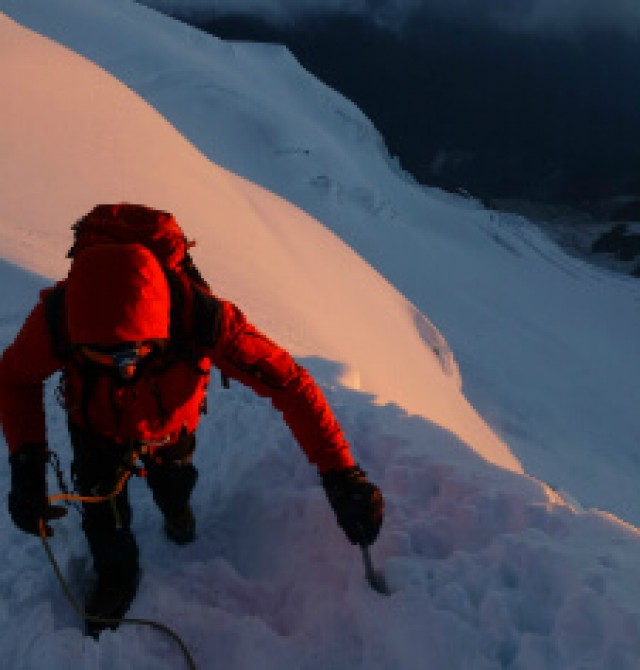 Subida al Refugio Tete Rousse (3.167 m) o Goutter (3.817 m) en Chamonix, Francia