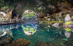 Jameos del agua en Lanzarote, Islas Canarias