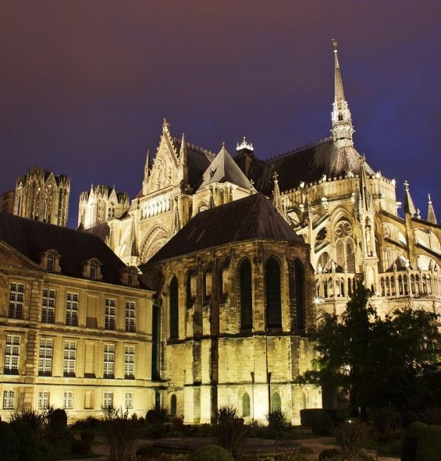 Catedral Notre-Dame de Reims en Francia