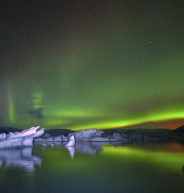 Auroras Boreales en Invierno