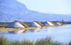 Salinas de Trapani en Sicilia