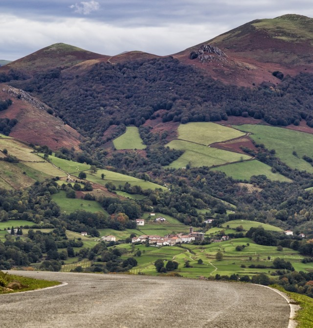 Valle del Baztán en Elizondo, Navarra