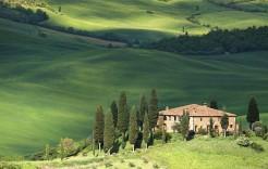 Clásica casa toscana en Italia