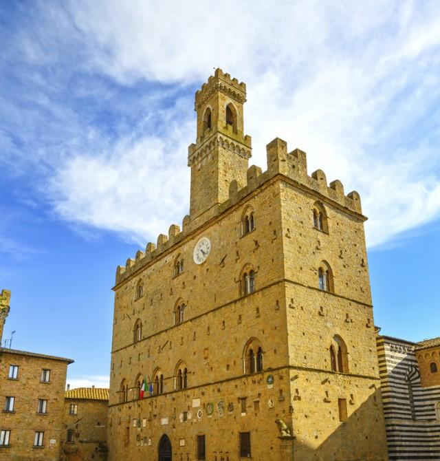 Volterra Palazzo dei Priori en Italia