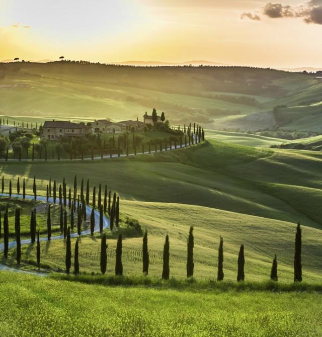 Libertad al volante en Toscana en Italia