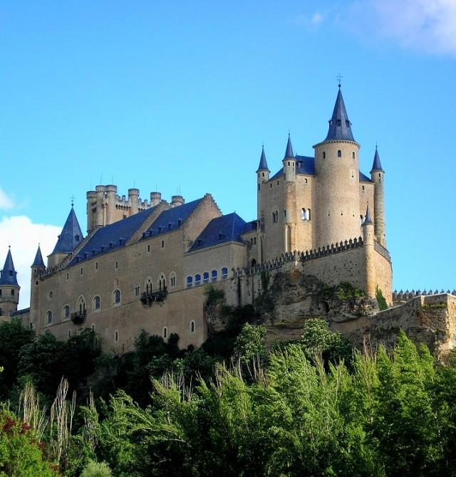 Alcázar en Segovia