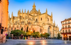 Catedral de Segovia en Segovia