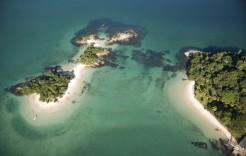 Bahía de Angra dos Reis en Brasil