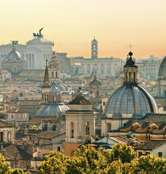 Paseando por la antigua Roma